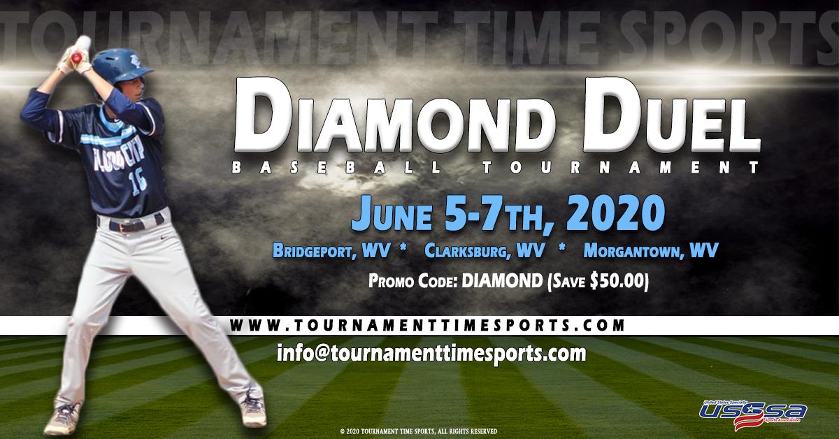 8th Annual Diamond Duel Tournament Time Sports