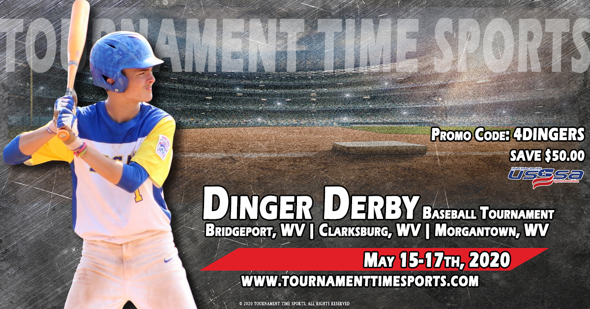 5th Annual Dinger Derby Tournament Time Sports